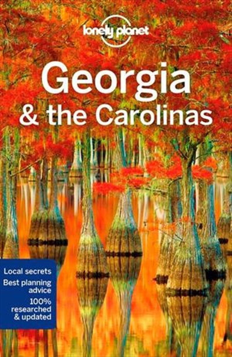 Lonely Planet Georgia & the Carolinas | Paperback Book