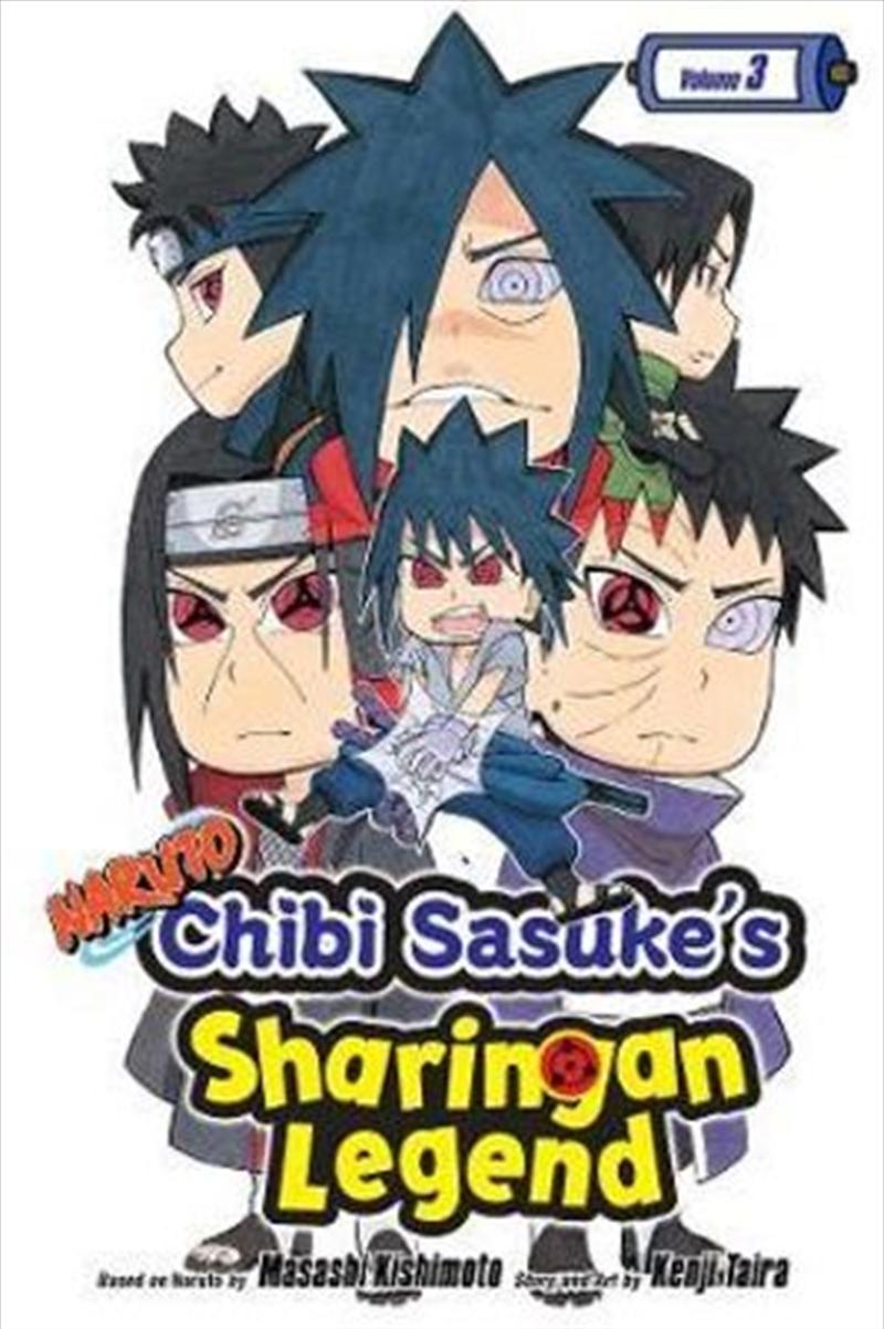 Naruto: Chibi Sasukes Sharinga | Paperback Book