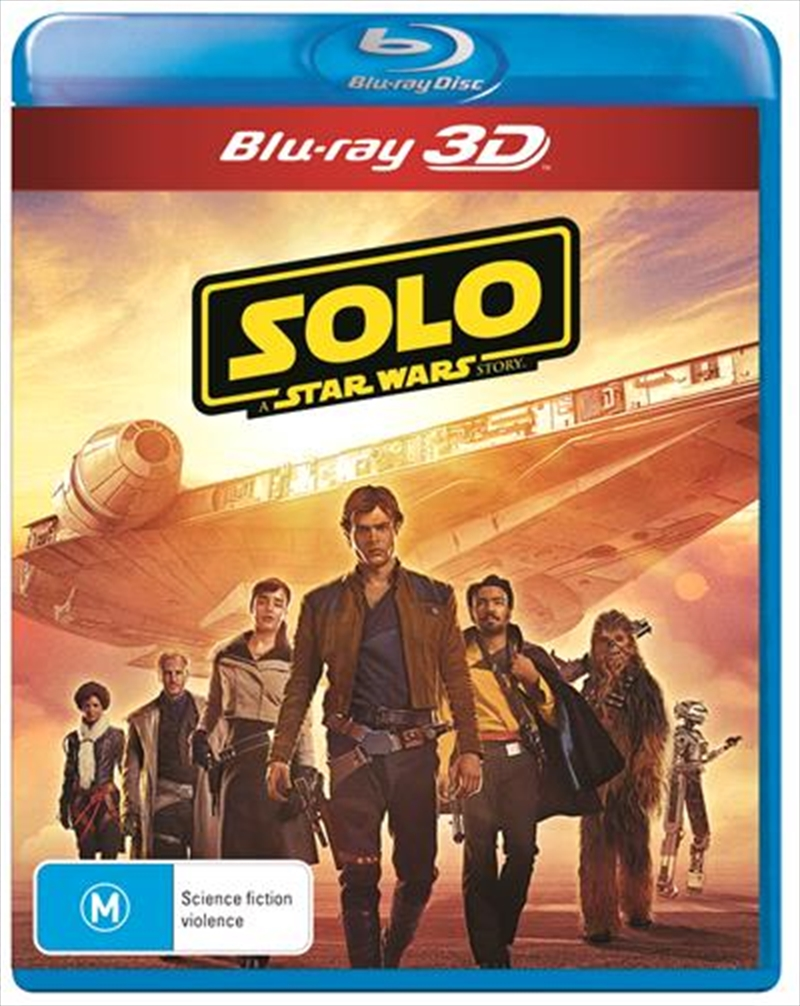Solo - A Star Wars Story | 3D Blu-ray | Blu-ray 3D