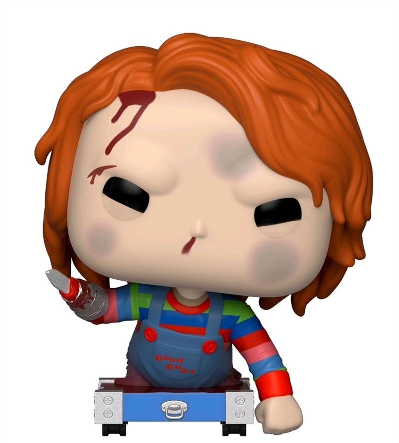Childs Play - Chucky on Cart US Exclusive Pop! Vinyl [RS] | Pop Vinyl