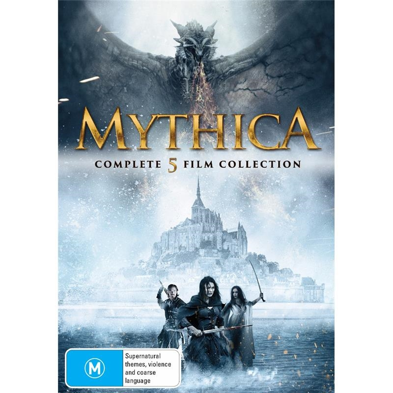 Mythica - Complete 5 Film Collection | DVD