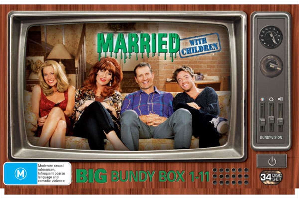 Married With Children - Big Bundy Box Season 1-11 | DVD
