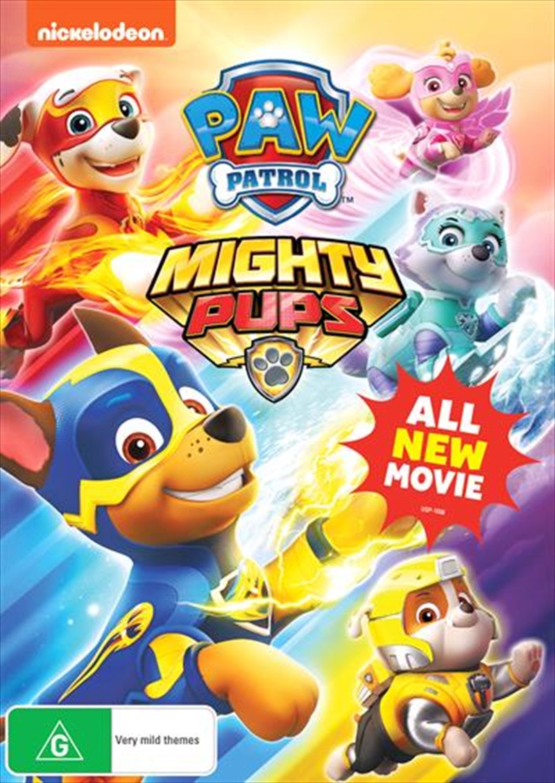Paw Patrol - Mighty Pups | DVD