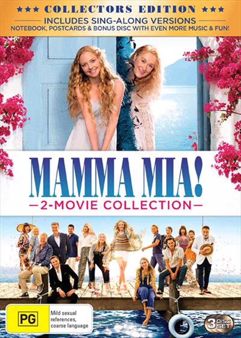 Mamma Mia! / Mamma Mia - Here We Go Again! - Limited Edition Special Packaging | DVD