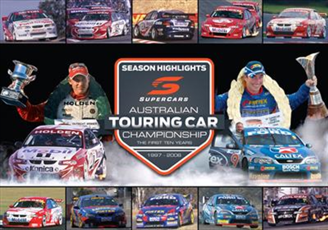 V8 Supercars - The First 10 Years Series Highlights Boxset | DVD