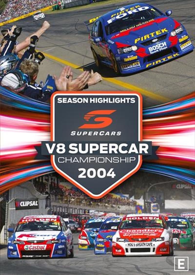 Touring Car Championship Highlights 2004 | DVD