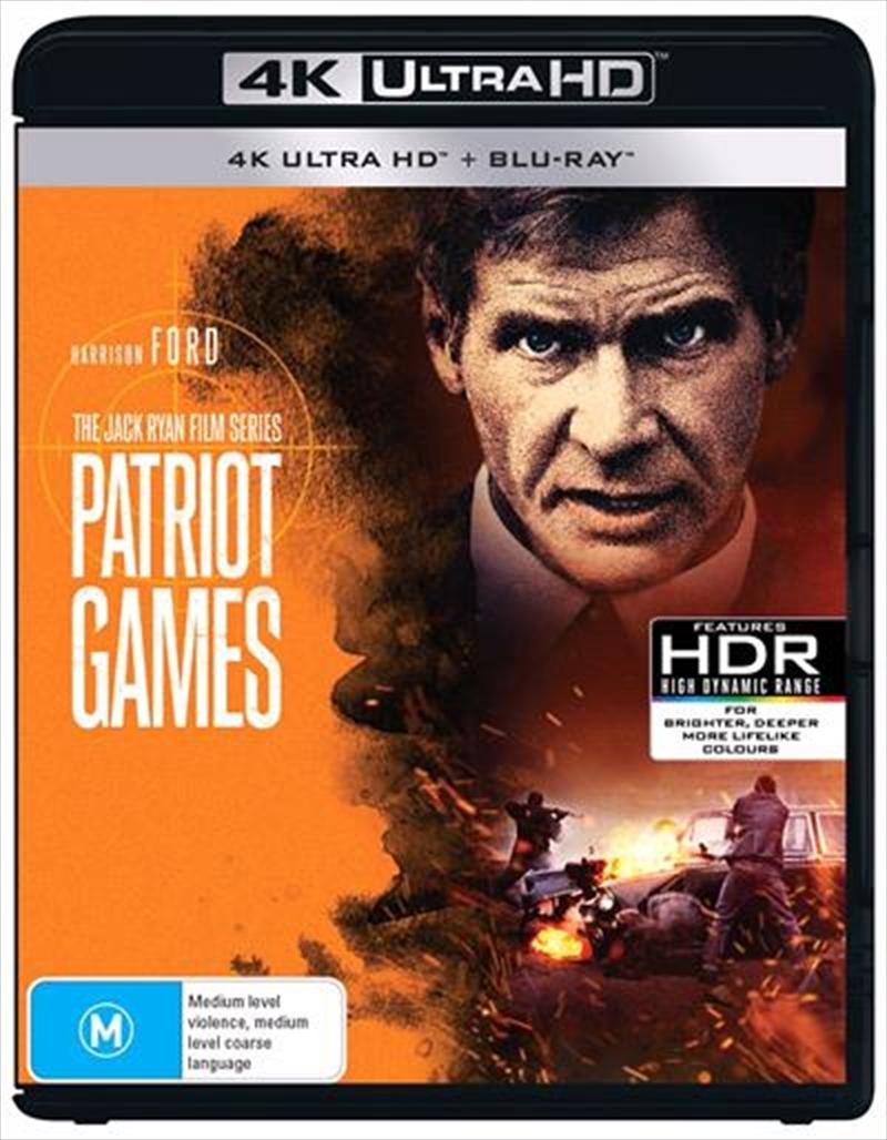 Patriot Games   UHD