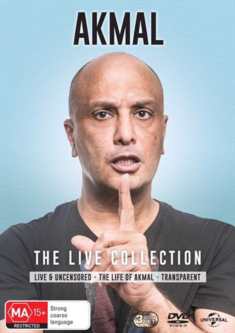 Akmal - The Live Collection | DVD