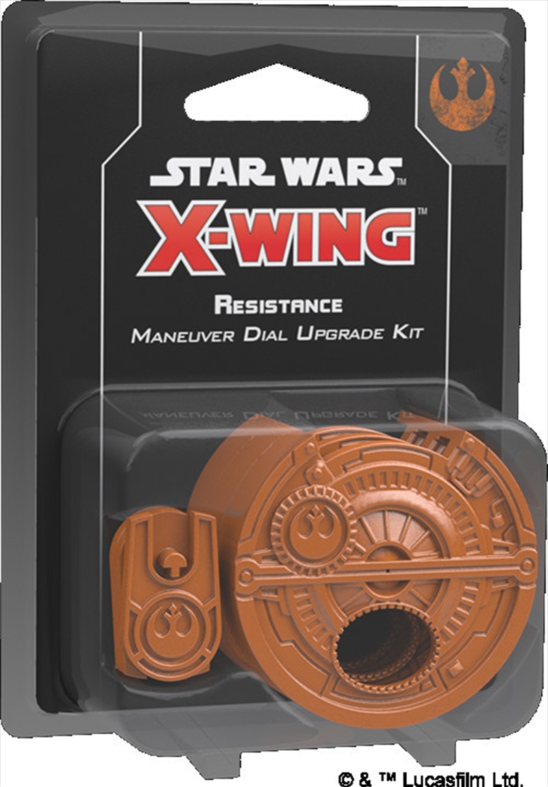 Star Wars X-Wing Miniatures Game - Resistance Maneuver Dial Upgrade Kit | Merchandise