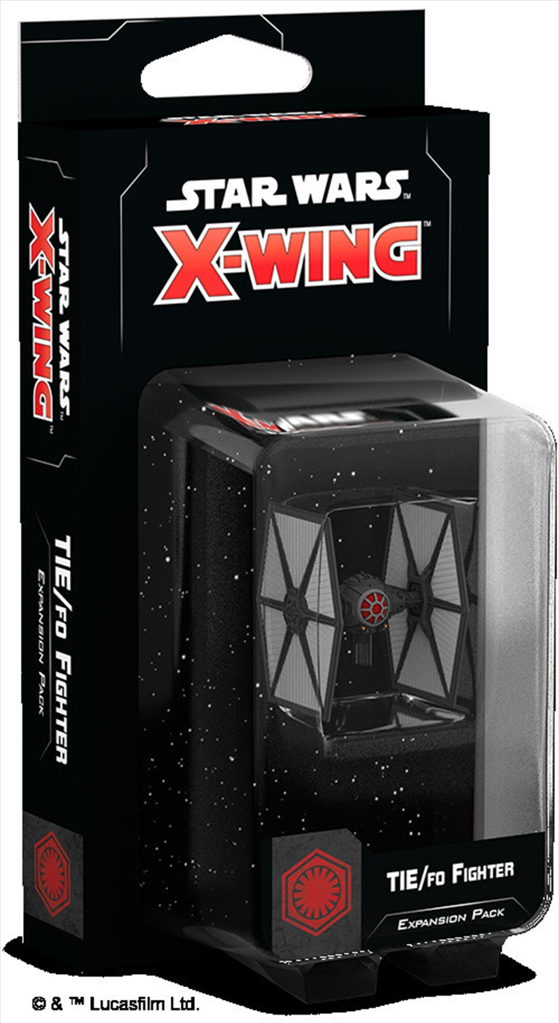 Star Wars X-Wing Miniatures Game - Tie/FO Fighter Expansion Pack   Merchandise