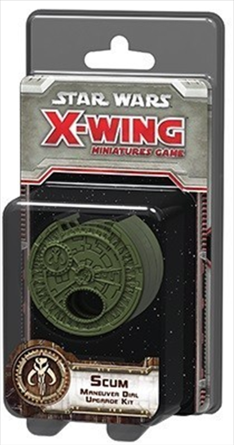 Star Wars X-Wing Scum Maneuver Dial | Merchandise