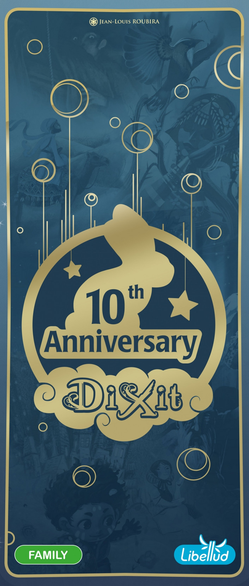 Dixit Shadow 10th Anniversary Expansion Games Merchandise