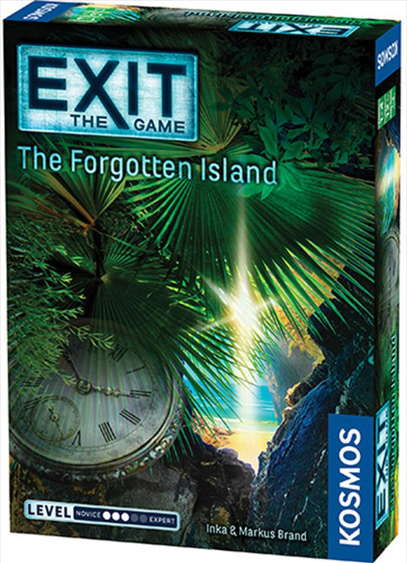Exit the Game the Forgotten Island   Merchandise