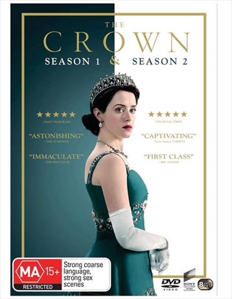 Crown - Season 1-2 | Boxset, The | DVD