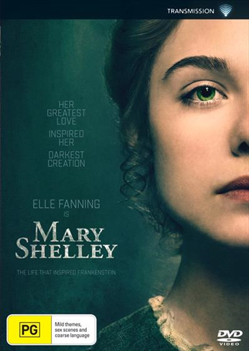 Buy Mary Shelley on DVD | Sanity Online