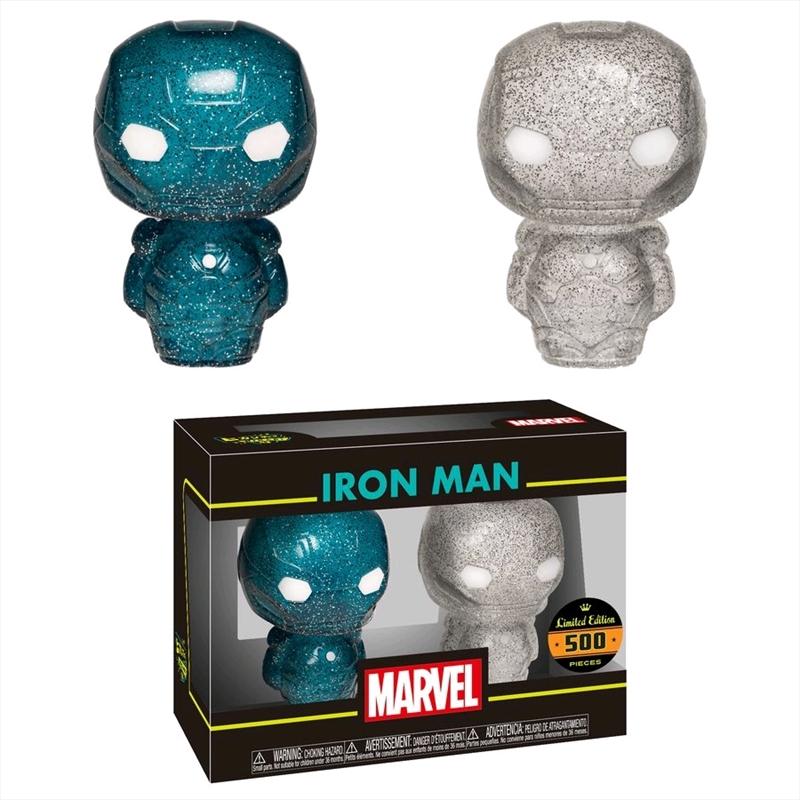 Iron Man - Blue & Silver XS Hikari 2-pack   Dorbz