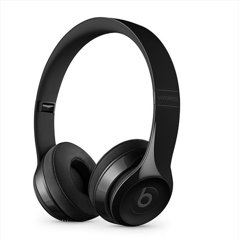 Beats Solo3 Wireless On-Ear Headphones - Gloss Black | Accessories