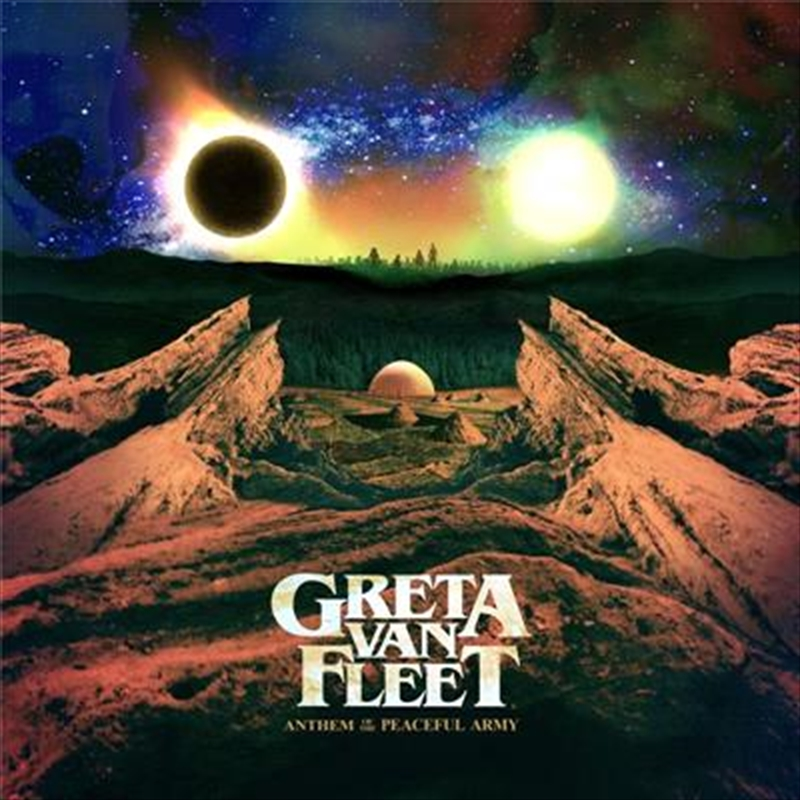 Anthem Of The Peaceful Army   CD