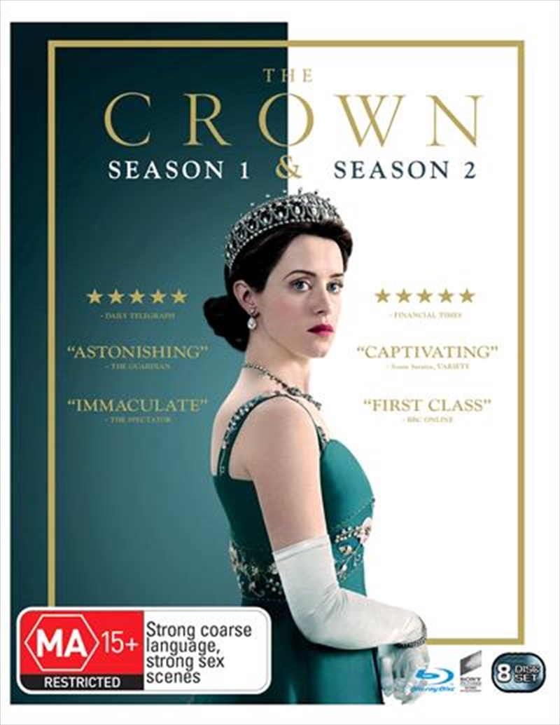 Crown - Season 1-2 | Boxset, The | Blu-ray
