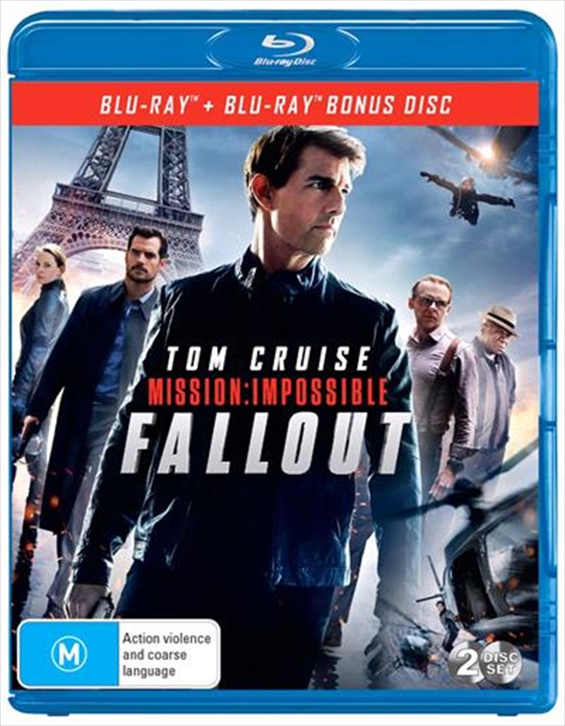 Mission Impossible - Fallout | Bonus Disc | Blu-ray