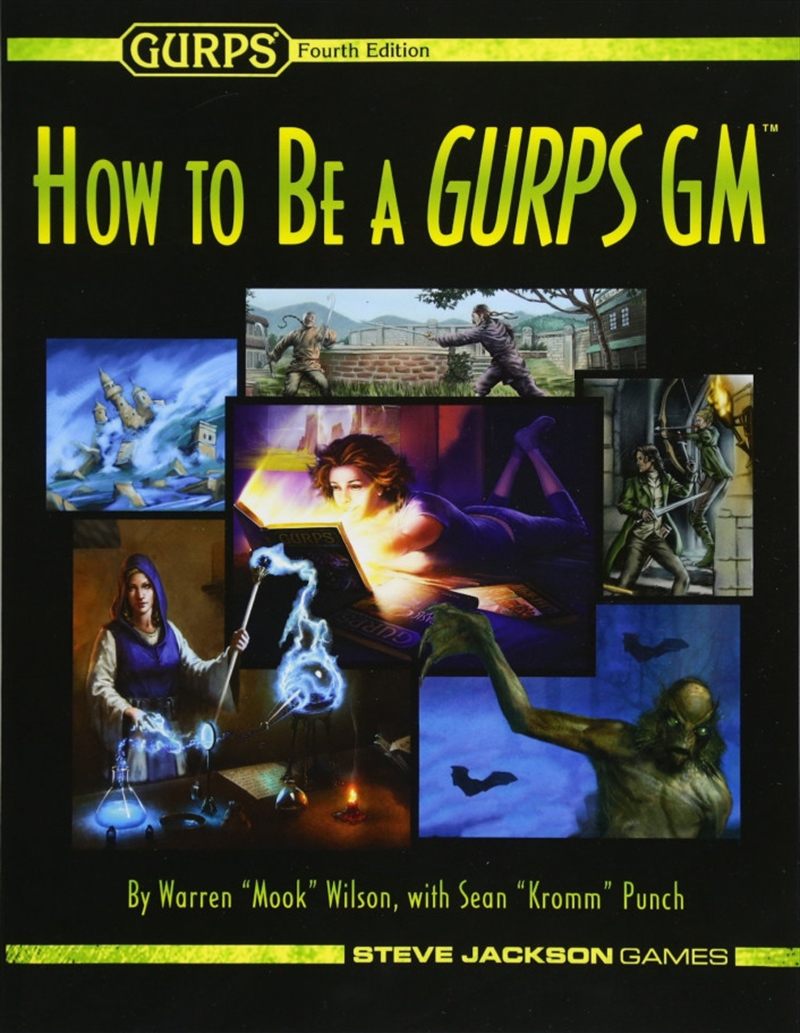 How To Be A Gurps Gm   Games