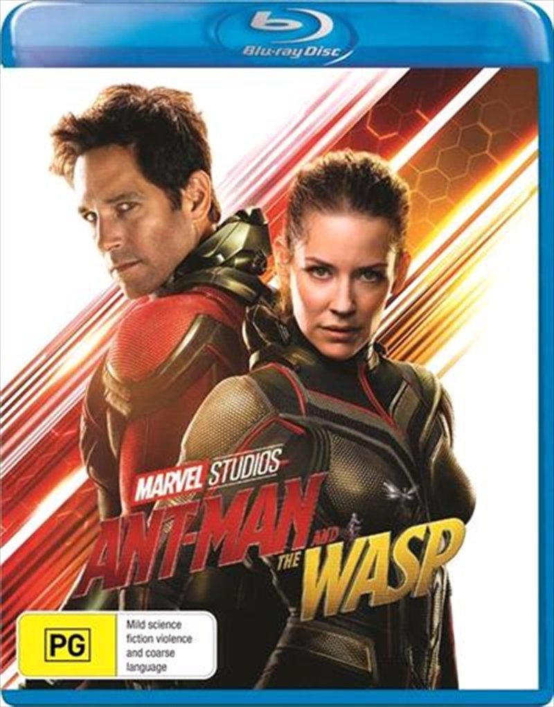 Buy Ant Man And The Wasp On Blu Ray Sanity Online