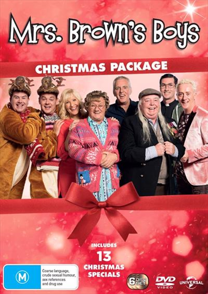 Mrs. Browns Boys - 2018 Christmas Package | Boxset | DVD