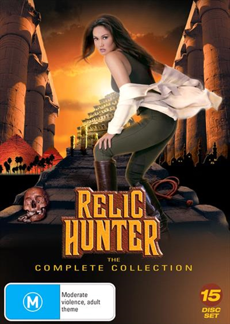 Buy Relic Hunter Series Collection On Dvd Sanity