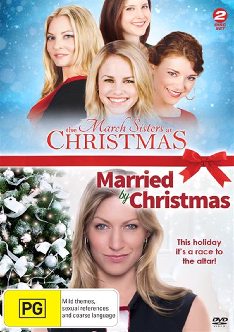 March Sisters At Christmas / Married By Christmas, The   DVD