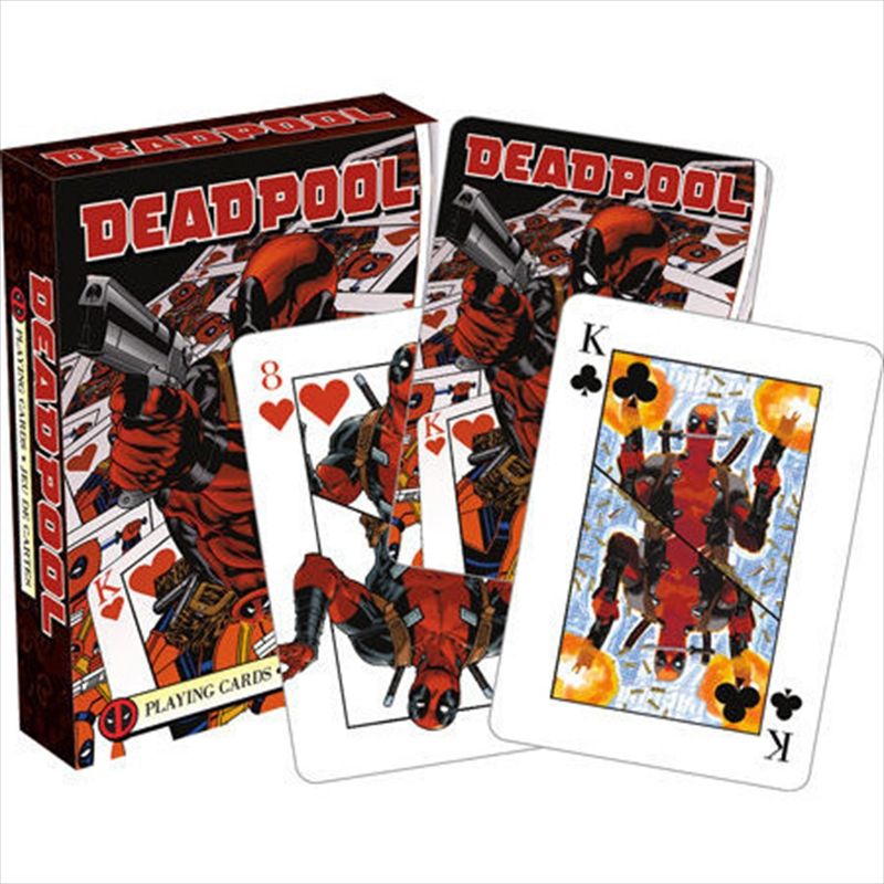 Marvel Deadpool Mirror Playing Cards | Merchandise