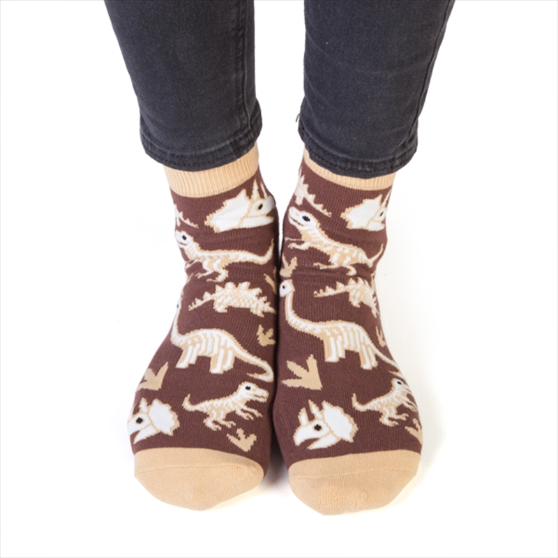 Dinosaur Feet Speak Socks | Apparel