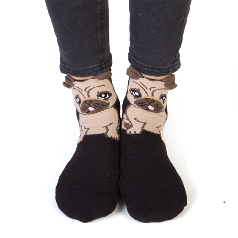 Pug Feet Speak Socks | Apparel