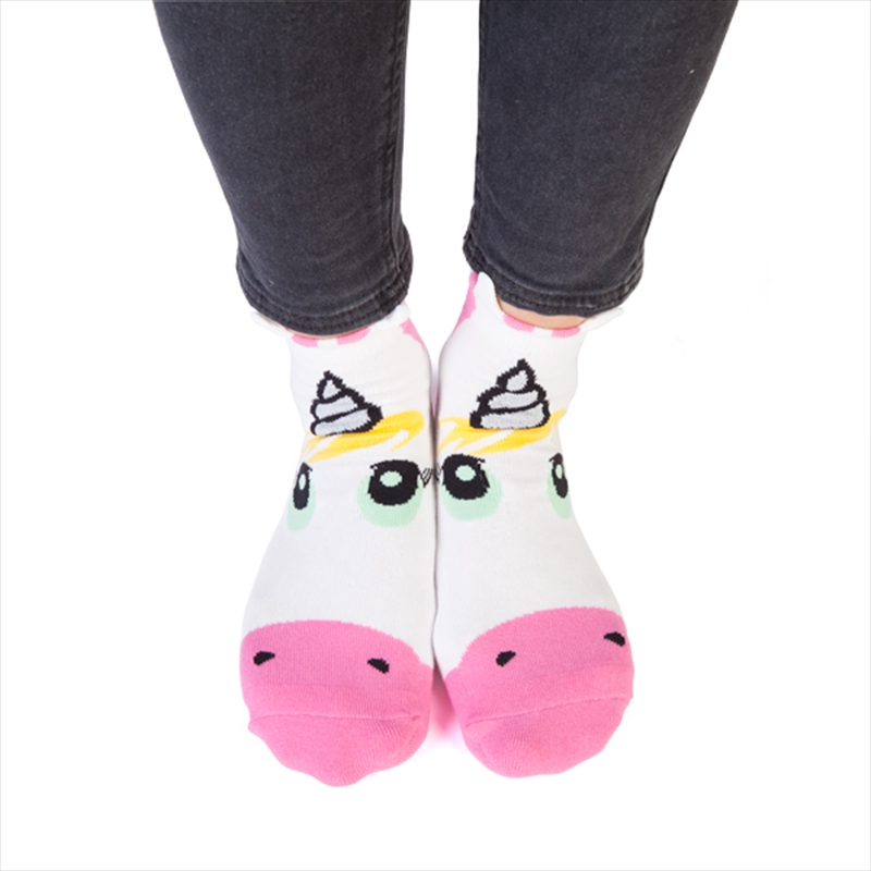 Unicorn Feet Speak Socks | Apparel