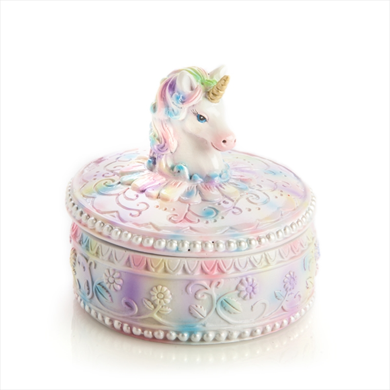 Pretty Unicorn Trinket Box | Merchandise