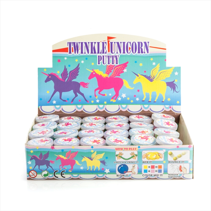 Twinkle Unicorn Putty | Toy