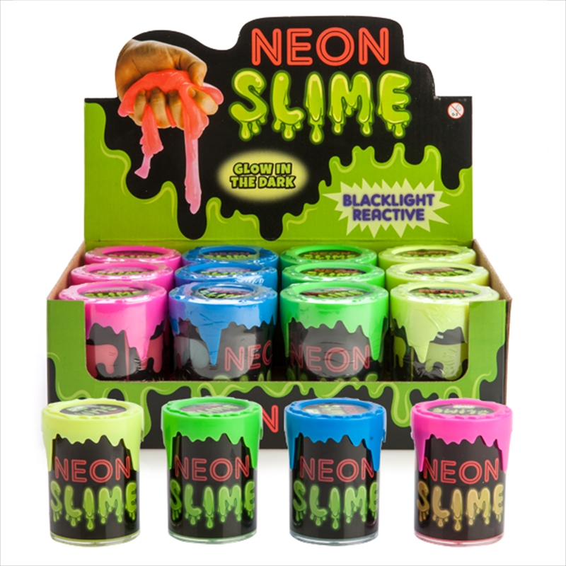 Glow In The Dark Neon Slime | Toy