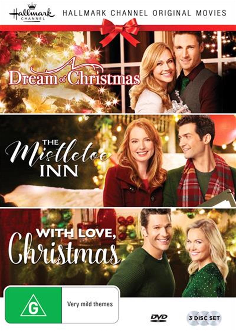 Buy Hallmark Christmas Collection 3 - A Dream of Christmas/The Mistletoe Inn/With Love ...