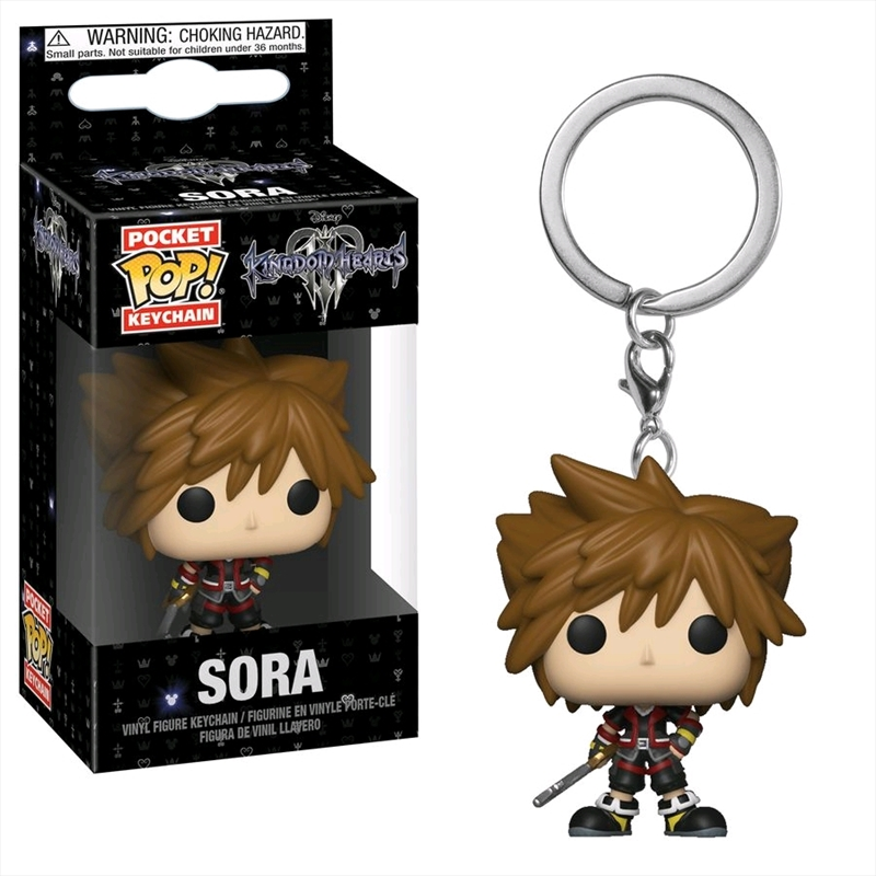 Kingdom Hearts III - Sora Pocket Pop! Keychain | Pop Vinyl