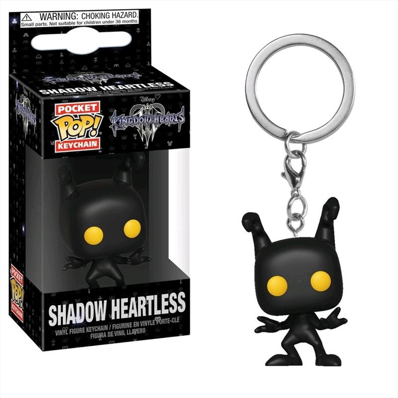 Kingdom Hearts III - Shadow Heartless Pocket Pop! Keychain | Pop Vinyl