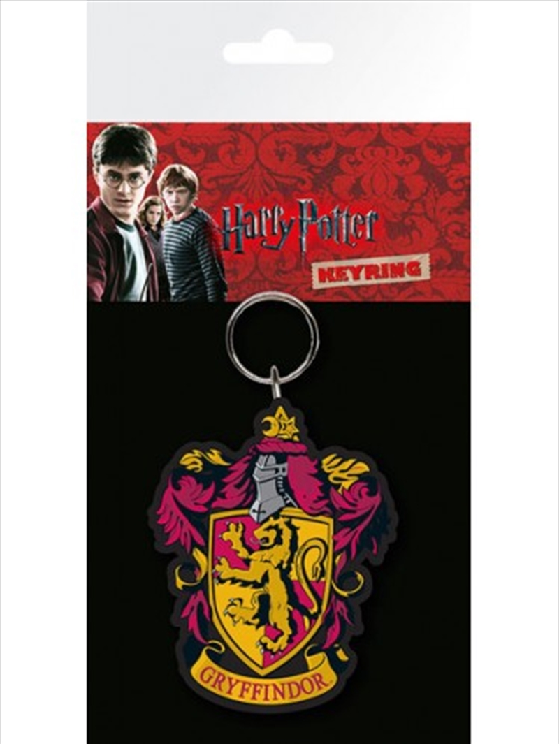 Harry Potter Gryffindor Keyring   Accessories