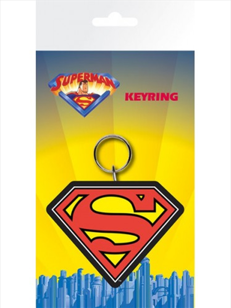 DC Comics Superman Logo Keyring | Accessories