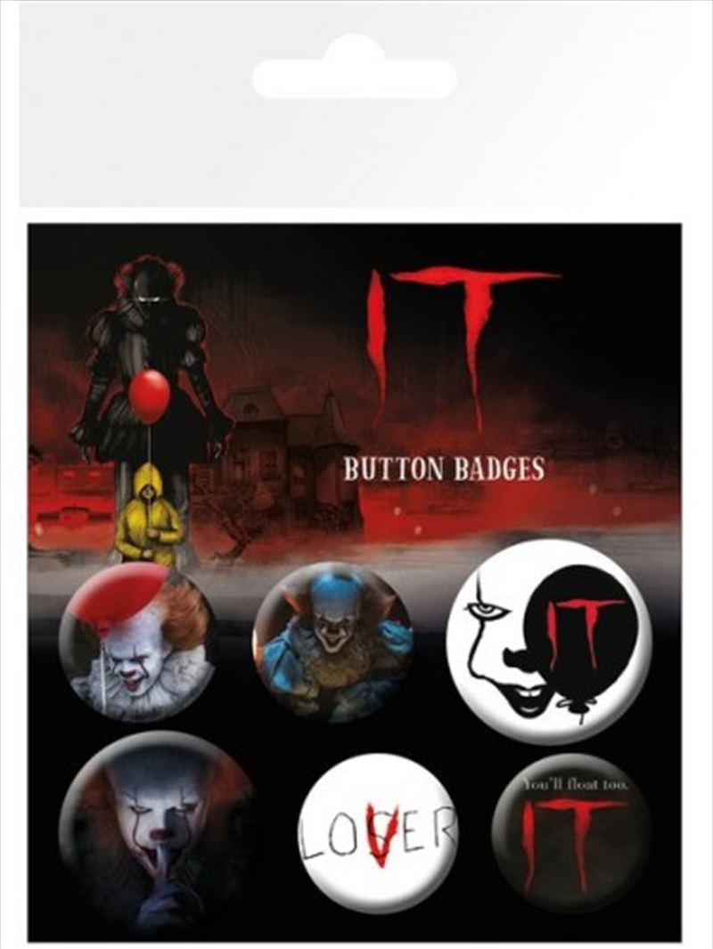 IT Film Mix Badge Pack | Merchandise