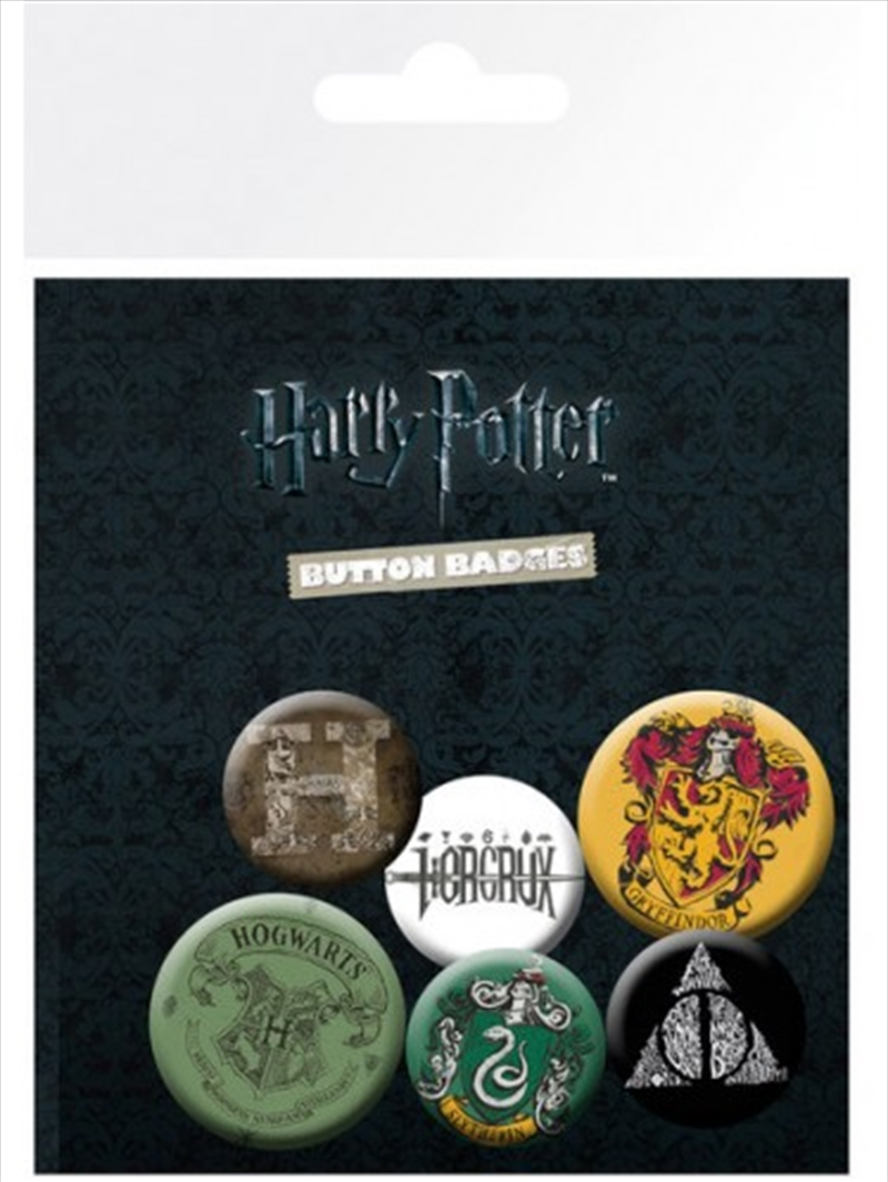 Harry Potter Mix Badge Pack | Merchandise
