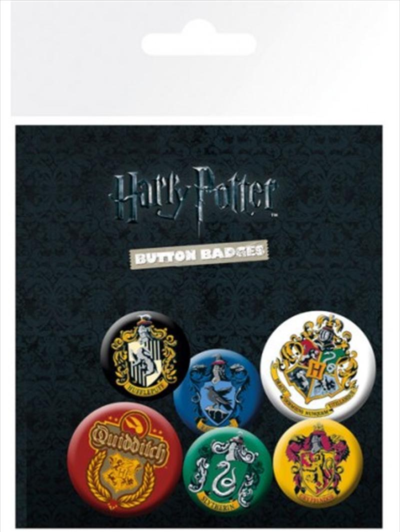 Harry Potter Crests Badge Pack | Merchandise