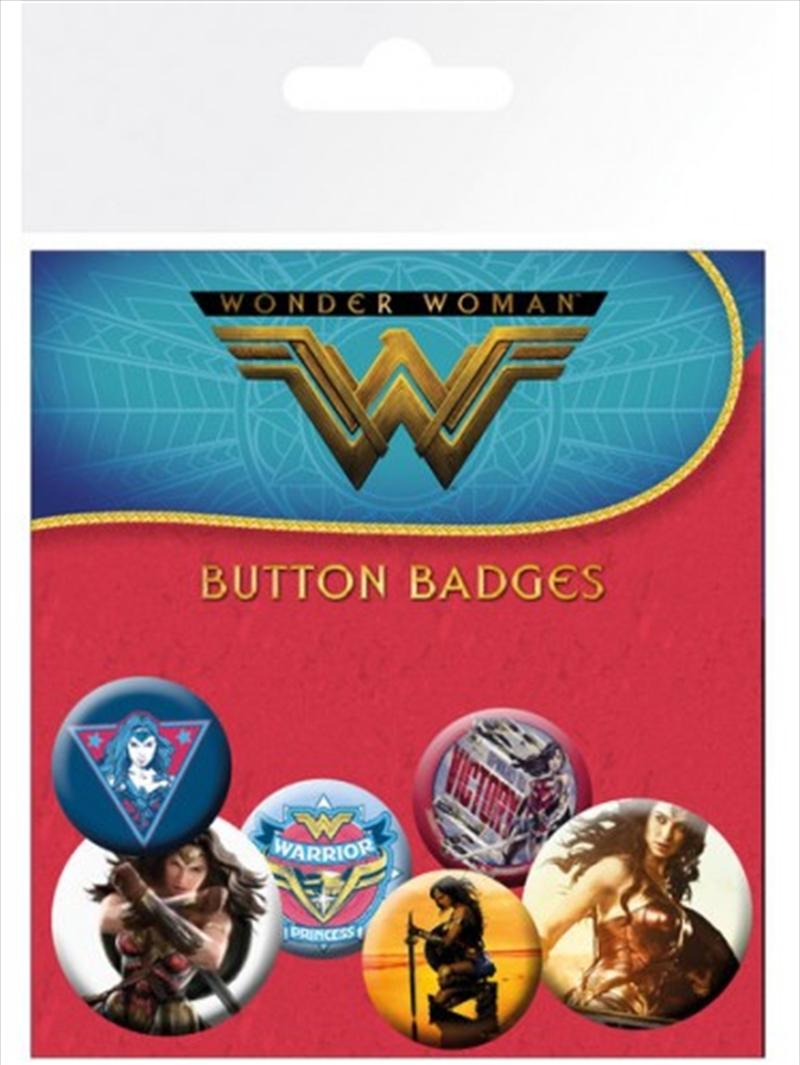 DC Comics Wonder Woman Film Mix Badge Pack | Merchandise