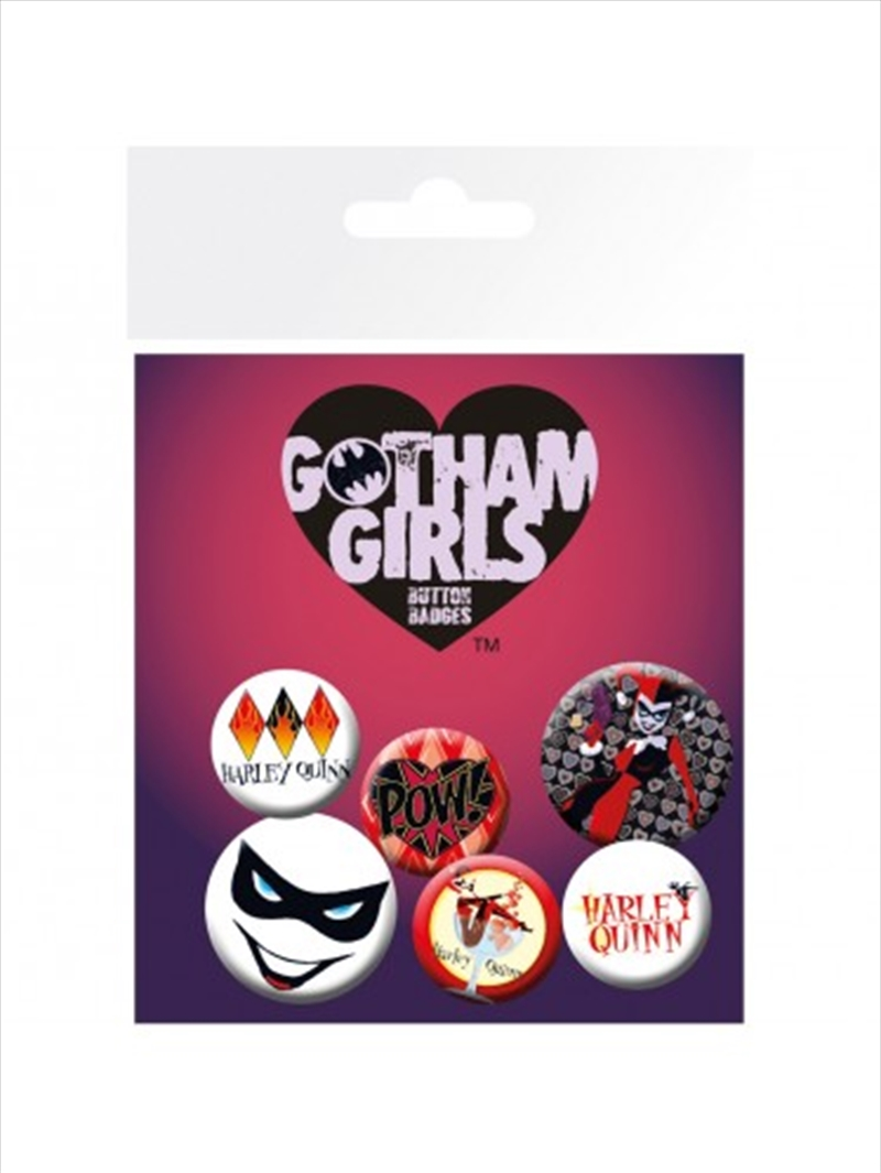 DC Comics Gotham Girls Badge Pack | Merchandise