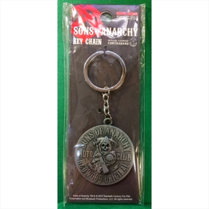 Sons of Anarchy Moto Club Keyring | Accessories