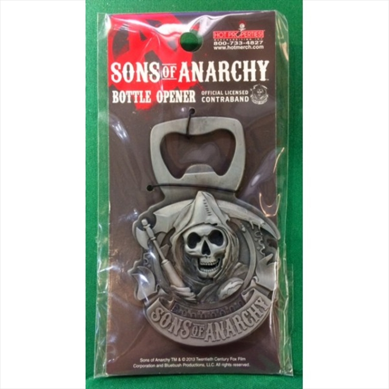 Sons of Anarchy Emblem Bottle Opener | Merchandise