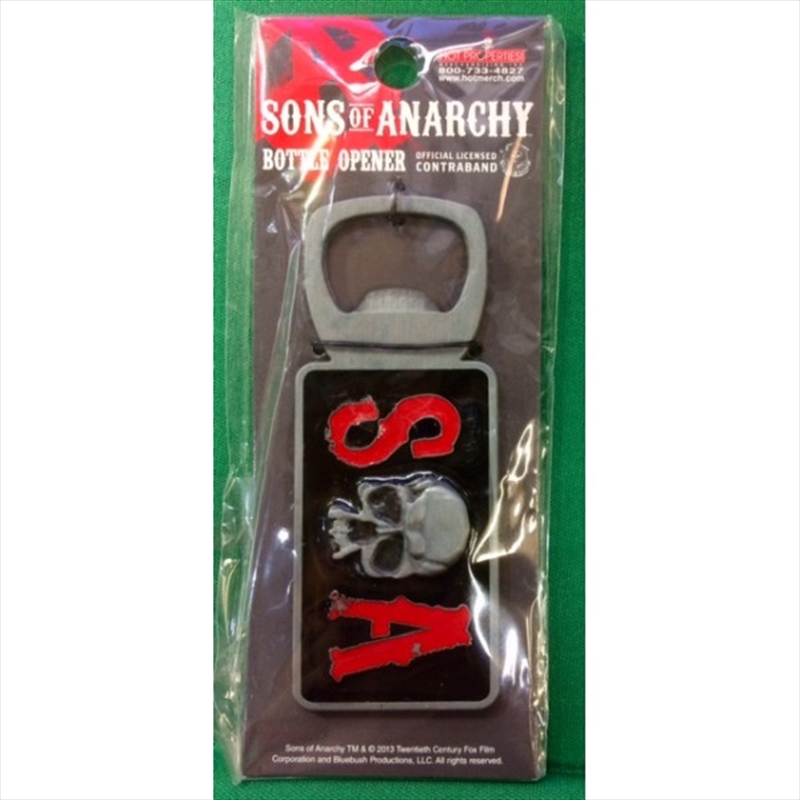 Sons of Anarchy Skull Bottle Opener | Merchandise