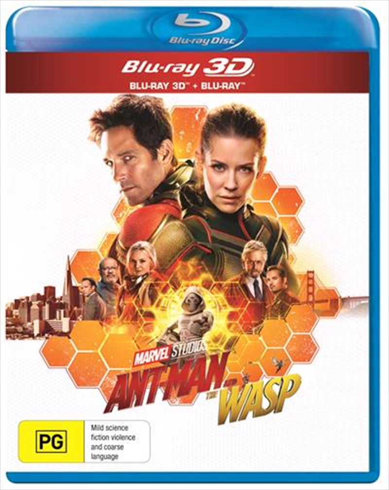 Ant-Man And The Wasp | 3D + 2D Blu-ray | Blu-ray 3D